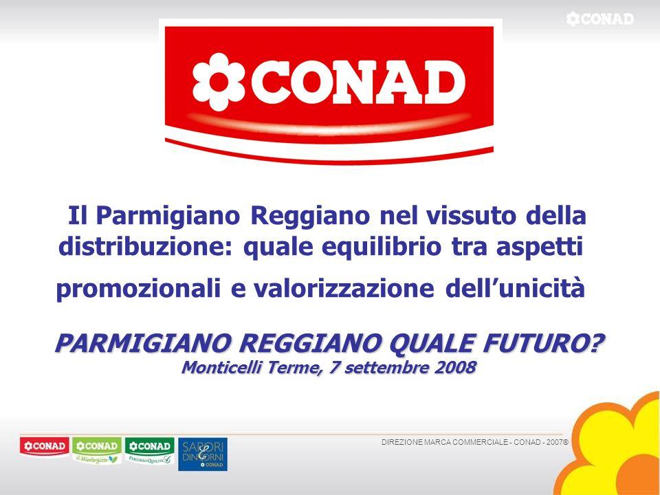 PARMIGIANO REGGIANO QUALE FUTURO Monticelli Terme, 7 settembre 2008