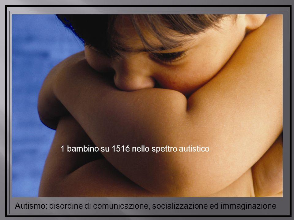 1 bambino su 151é nello spettro autistico