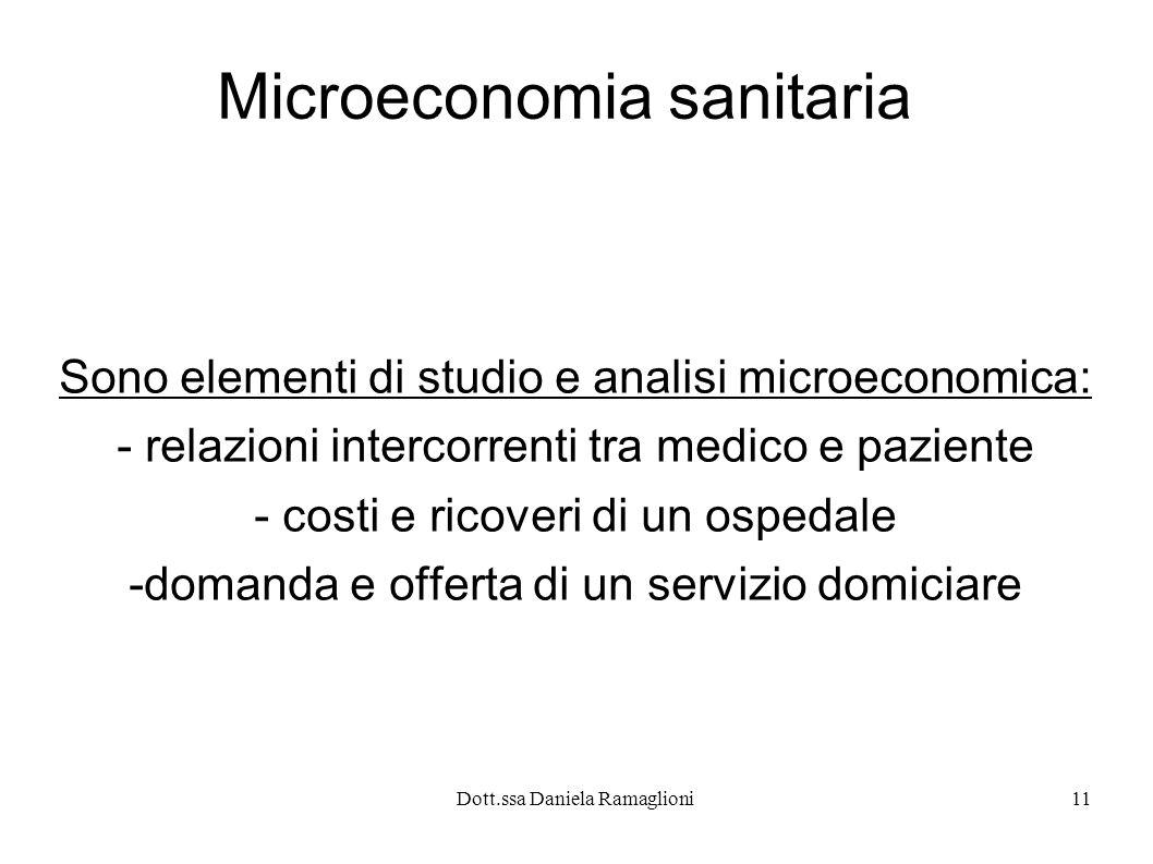 Microeconomia sanitaria