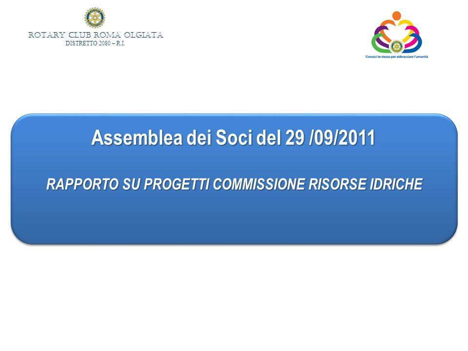 Assemblea dei Soci del 29 /09/2011