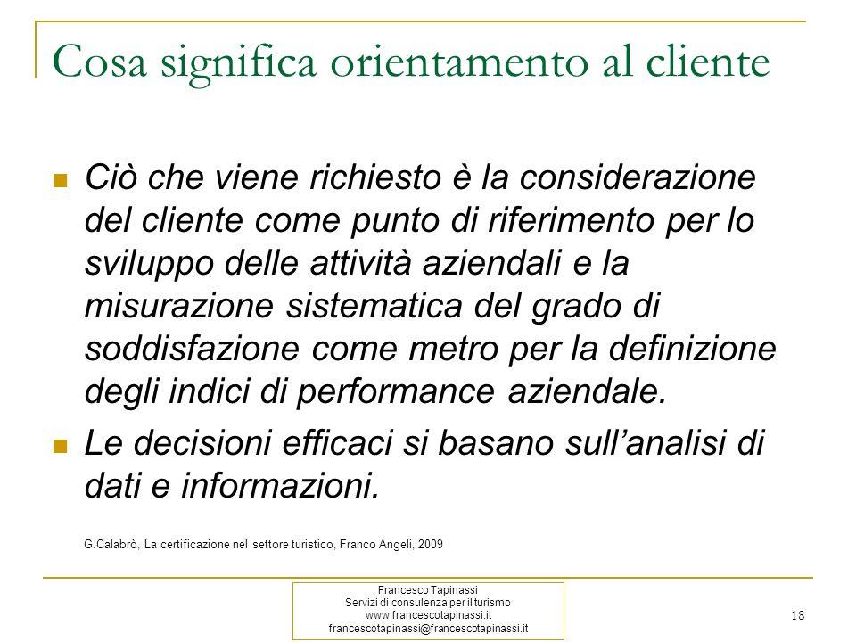 Cosa significa orientamento al cliente