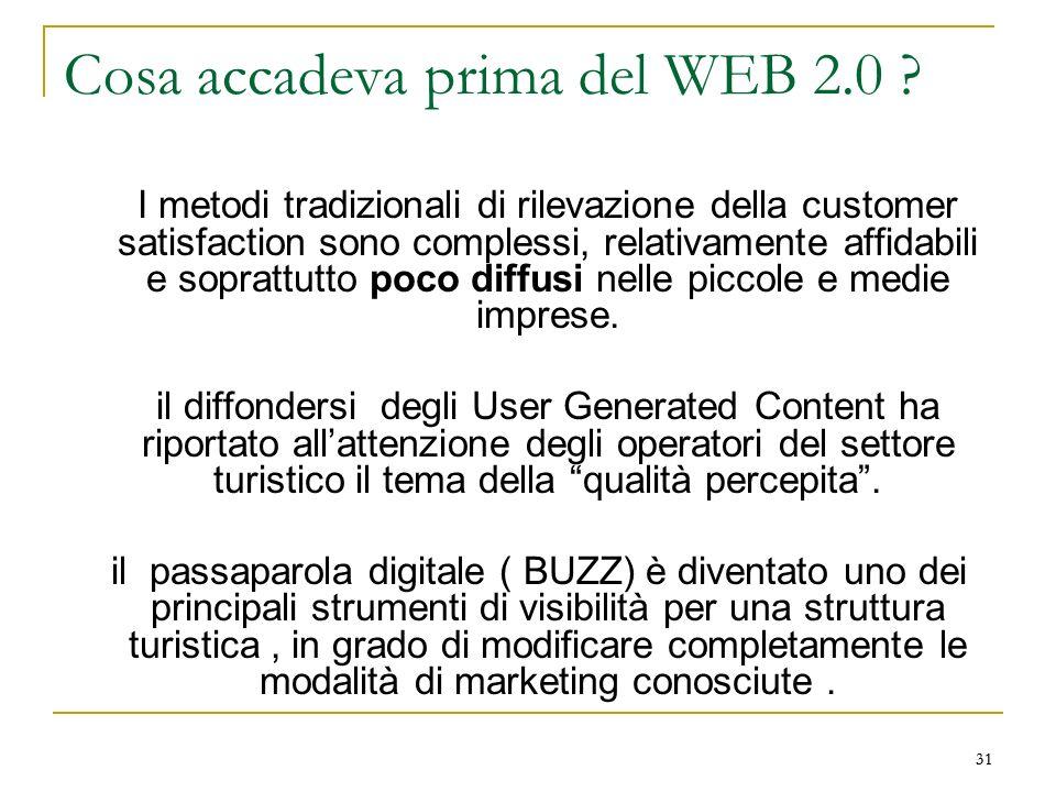 Cosa accadeva prima del WEB 2.0