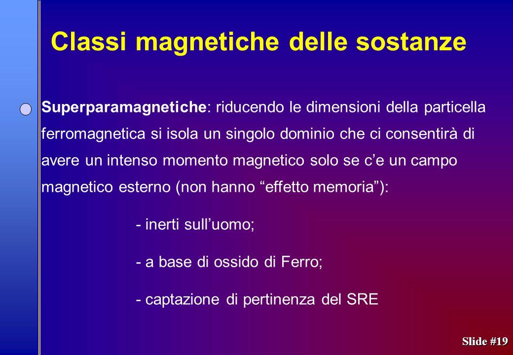 Classi magnetiche delle sostanze