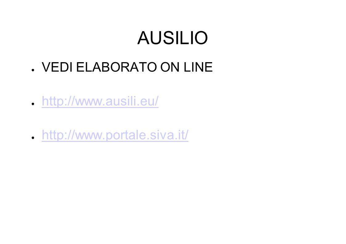 AUSILIO VEDI ELABORATO ON LINE http://www.ausili.eu/