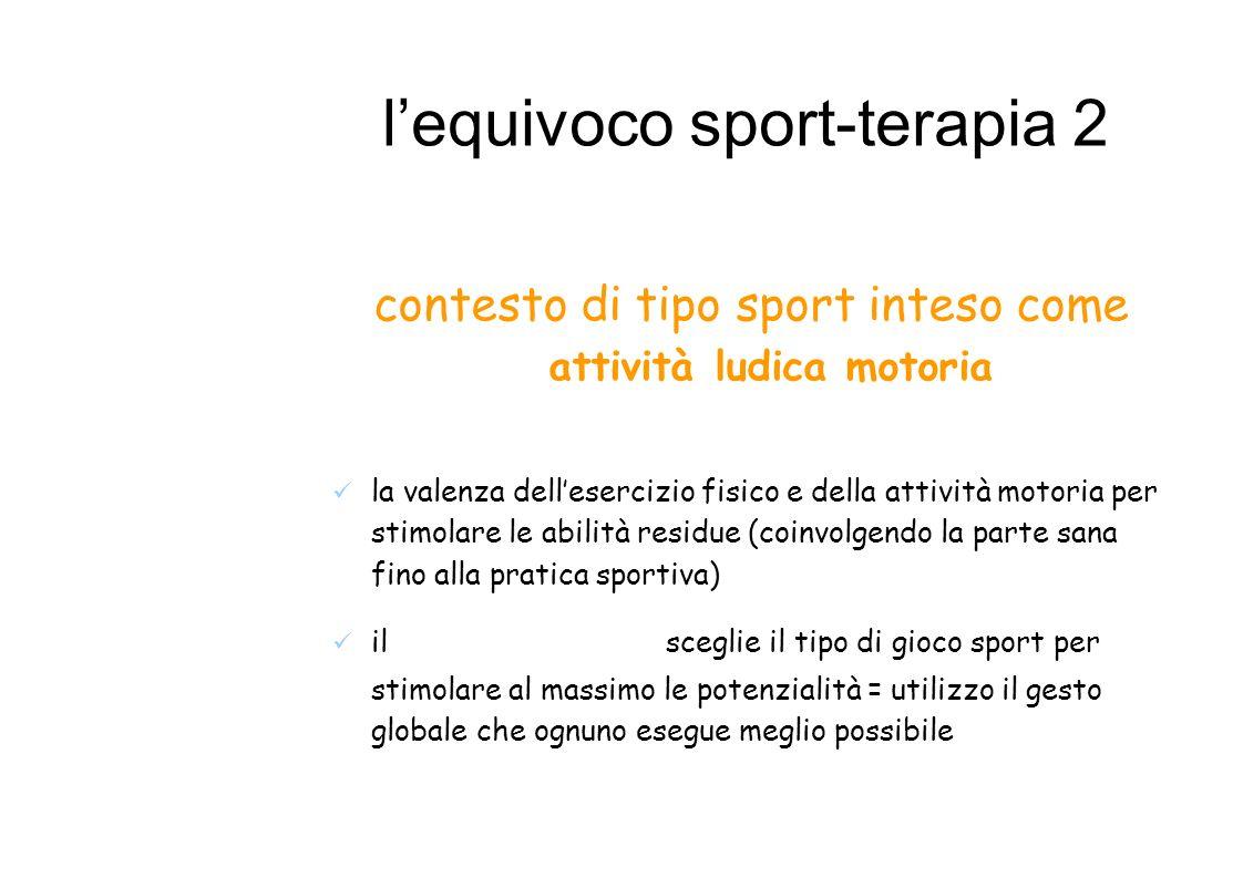 l'equivoco sport-terapia 2