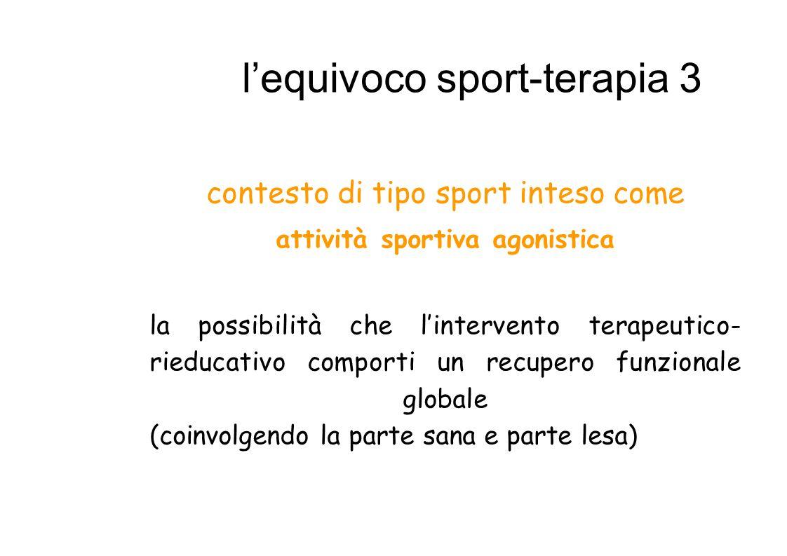 l'equivoco sport-terapia 3