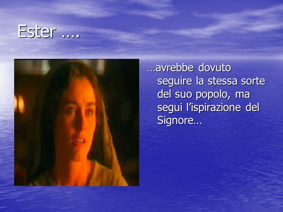 Ester ….