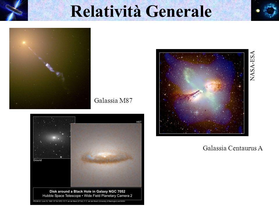 Relatività Generale Galassia M87 NASA-ESA Galassia Centaurus A