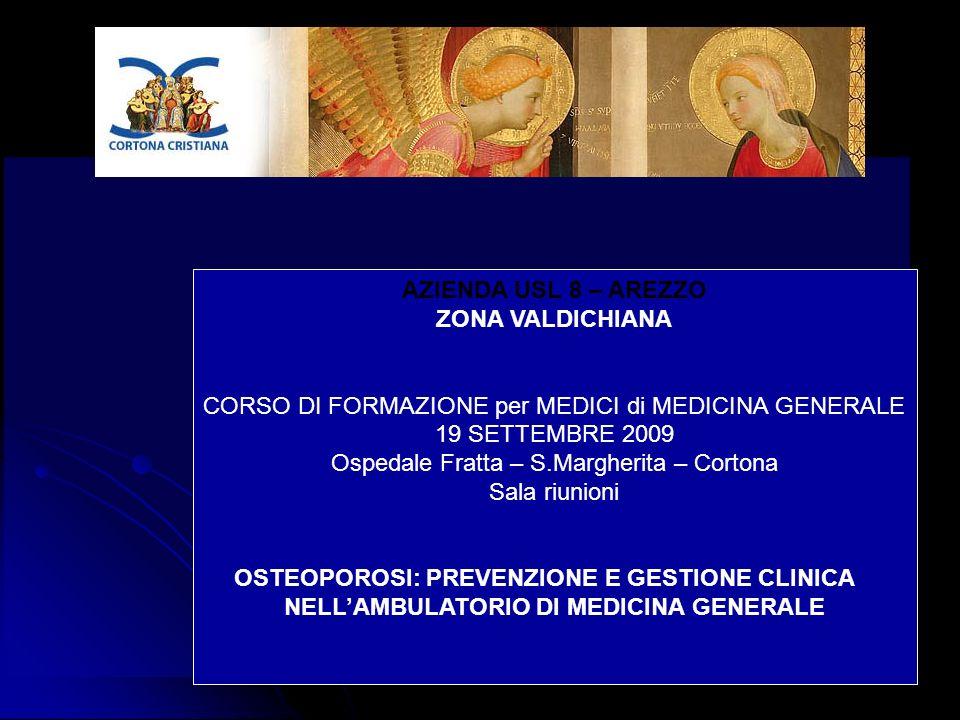 OSTEOPOROSI: PREVENZIONE E GESTIONE CLINICA