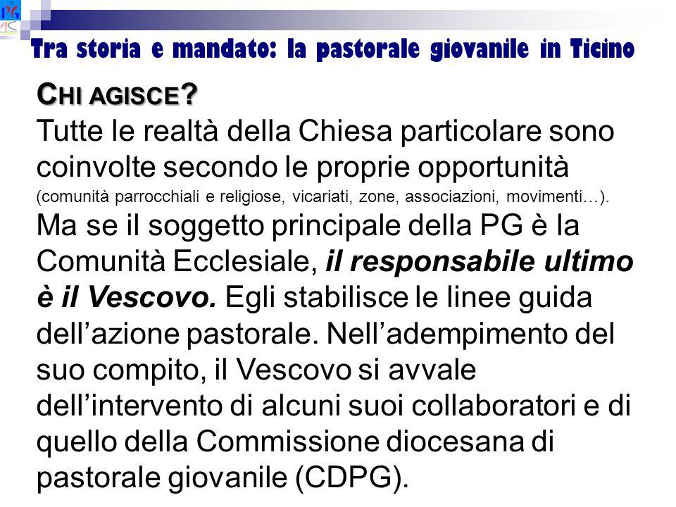 Tra storia e mandato: la pastorale giovanile in Ticino