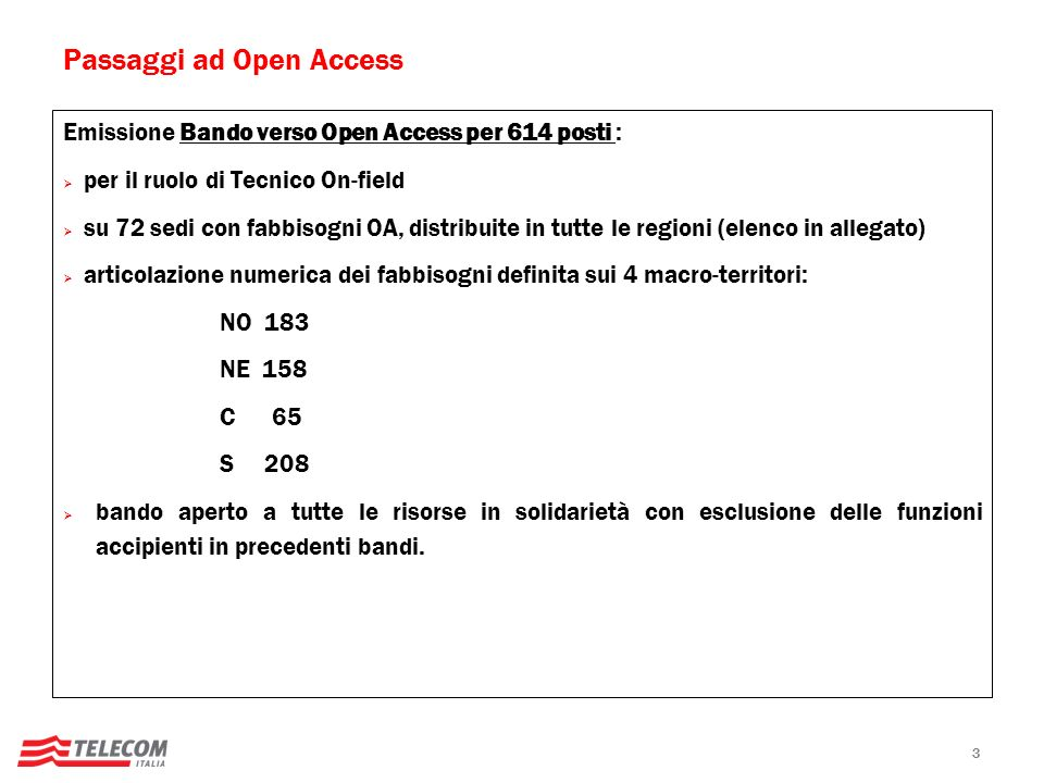 Passaggi ad Open Access