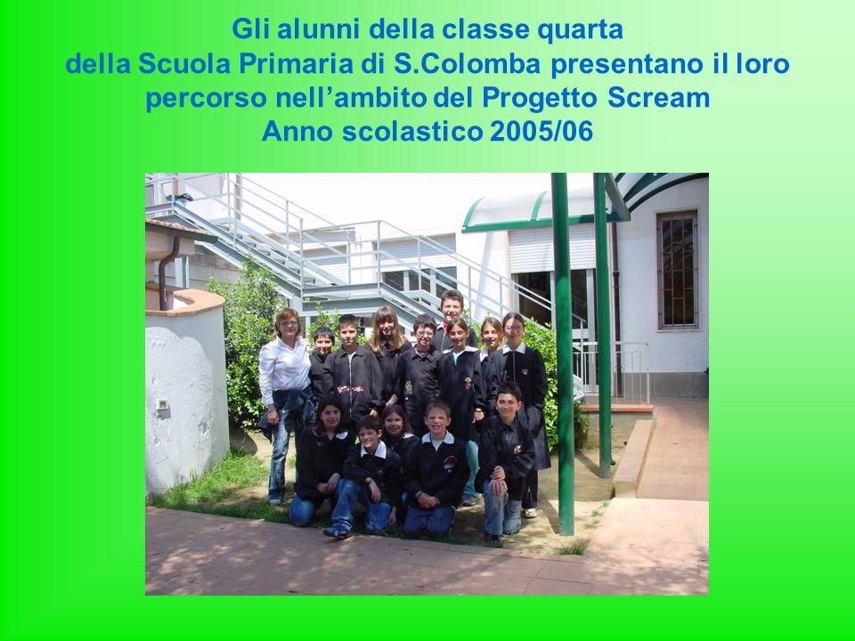 Gli alunni della classe quarta della Scuola Primaria di S