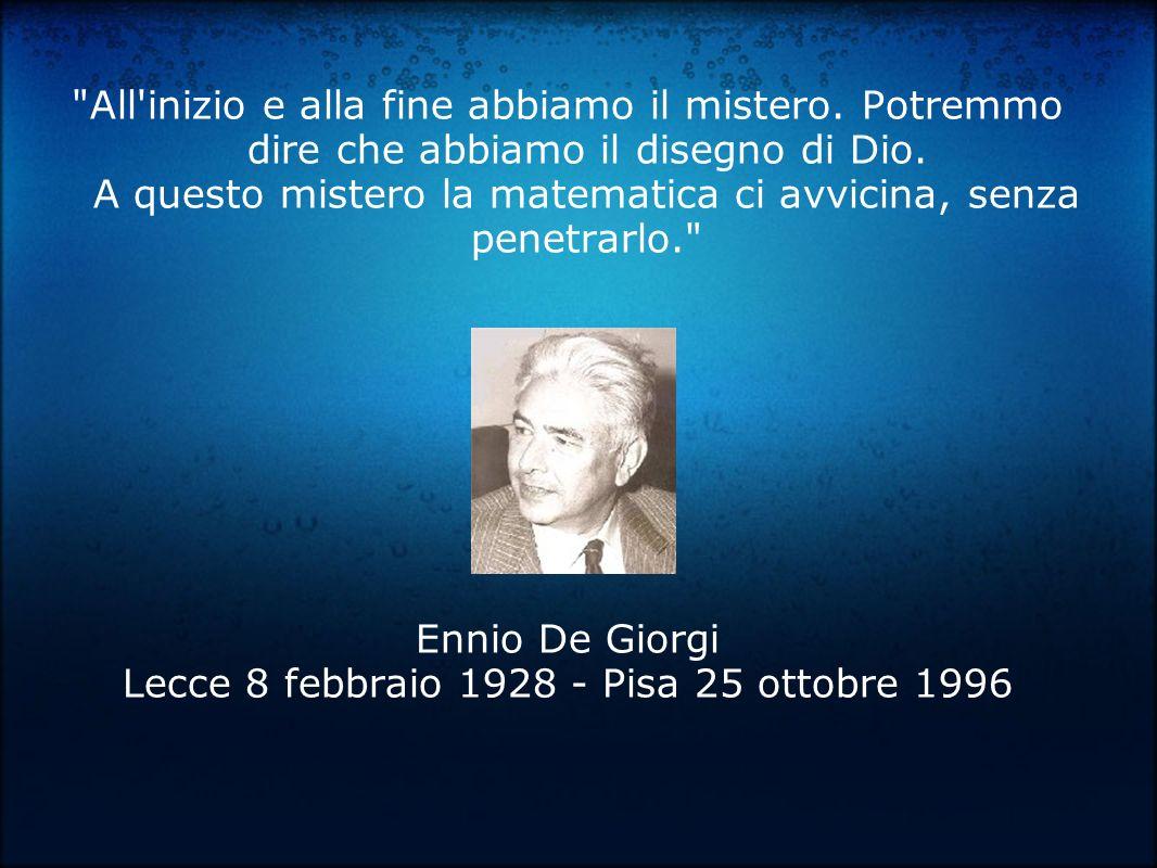 Lecce 8 febbraio 1928 - Pisa 25 ottobre 1996
