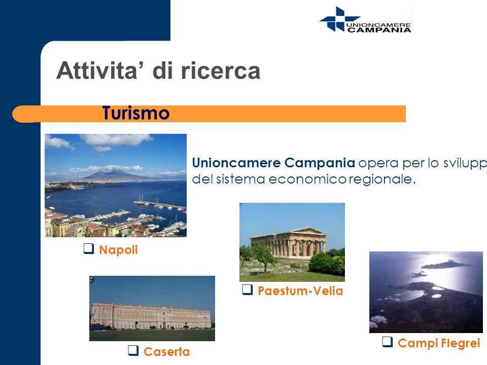 Attivita' di ricerca Turismo
