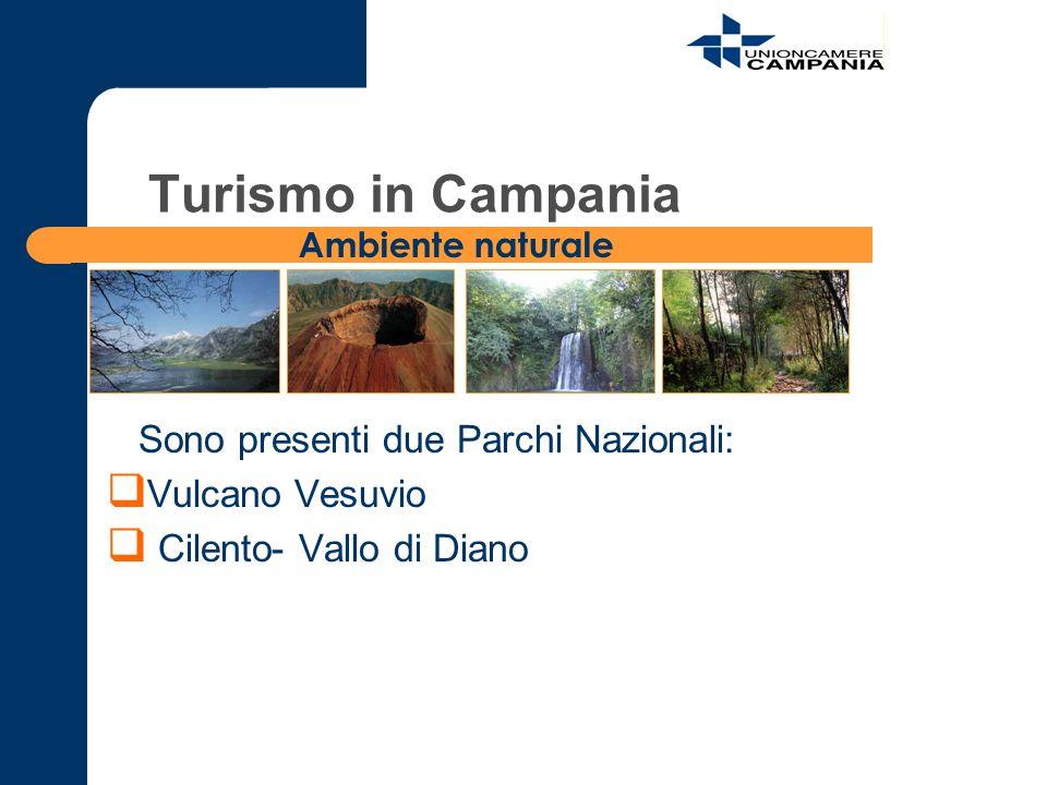 Turismo in Campania Sono presenti due Parchi Nazionali:
