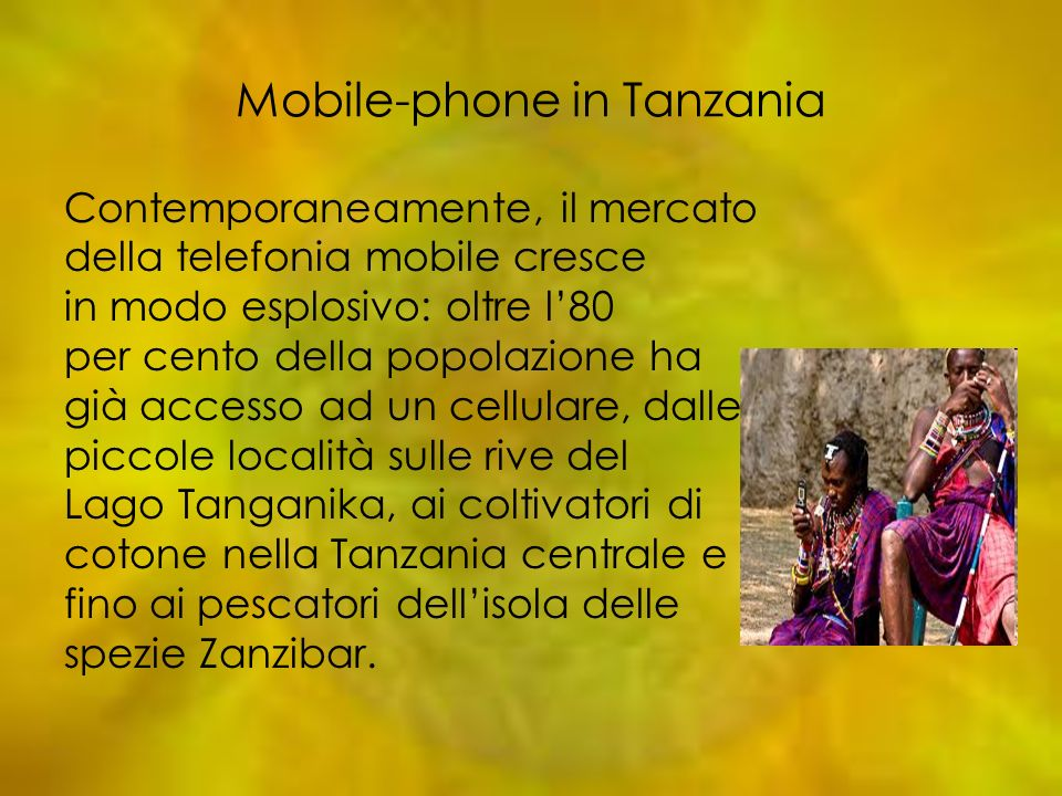 Mobile-phone in Tanzania