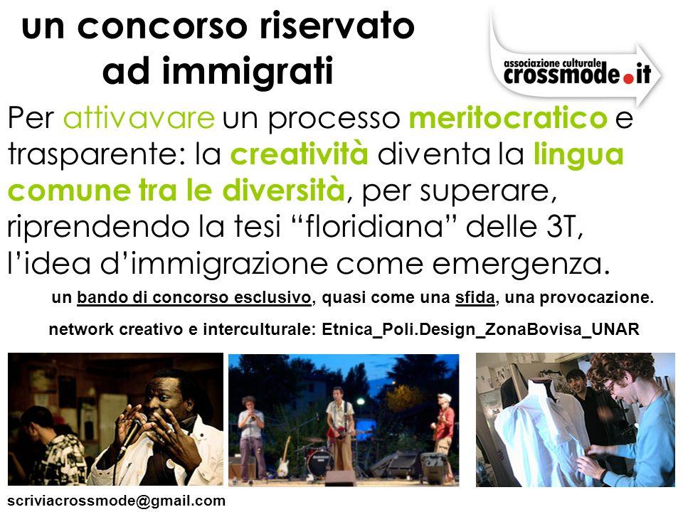 un concorso riservato ad immigrati