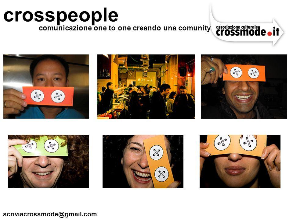 crosspeople comunicazione one to one creando una comunity
