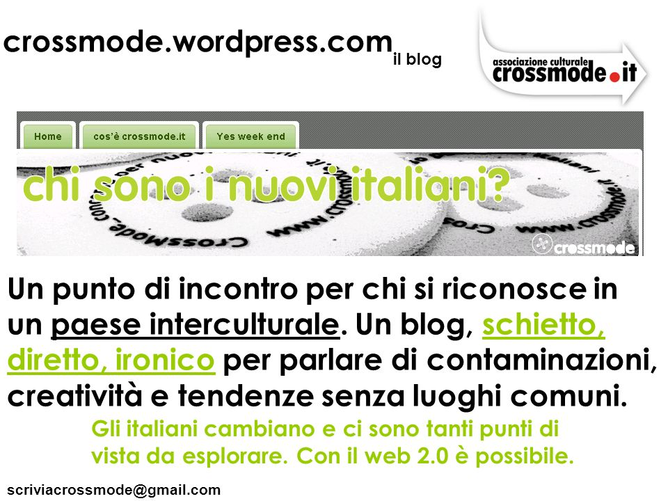 crossmode.wordpress.com il blog.
