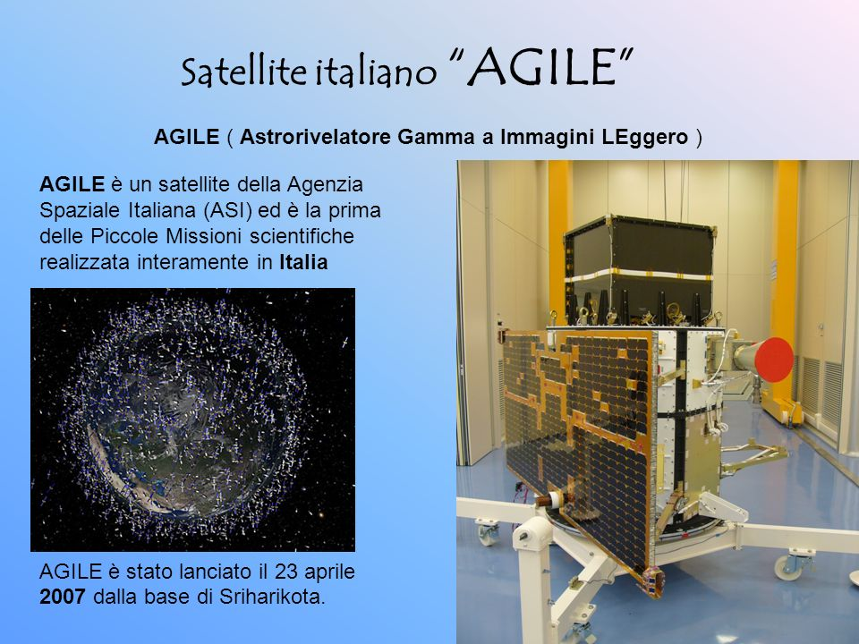 Satellite italiano AGILE