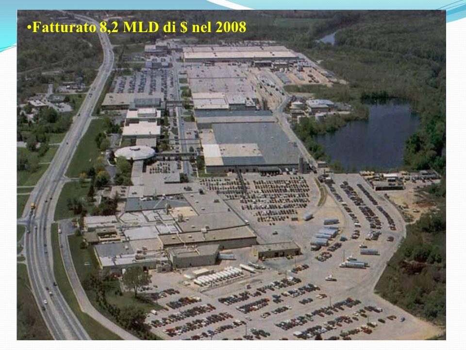 Fatturato 8,2 MLD di $ nel 2008