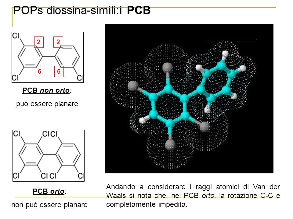 POPs diossina-simili:i PCB