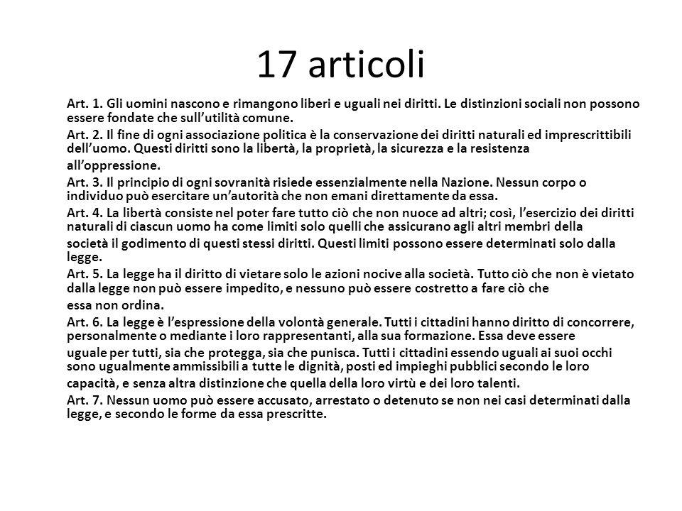 17 articoli