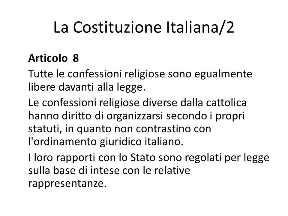 La Costituzione Italiana/2