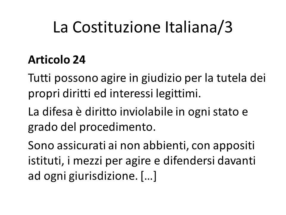 La Costituzione Italiana/3