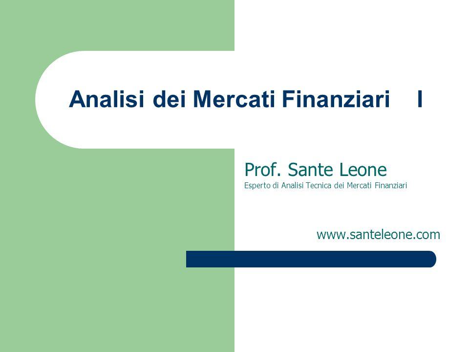 Analisi dei Mercati Finanziari I