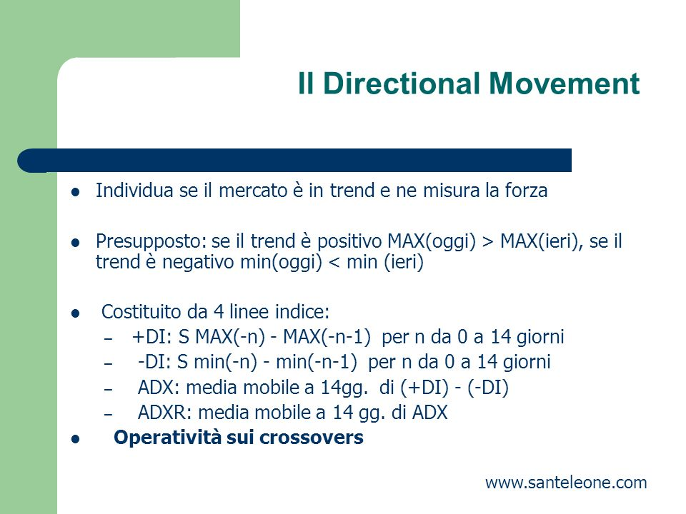 Il Directional Movement