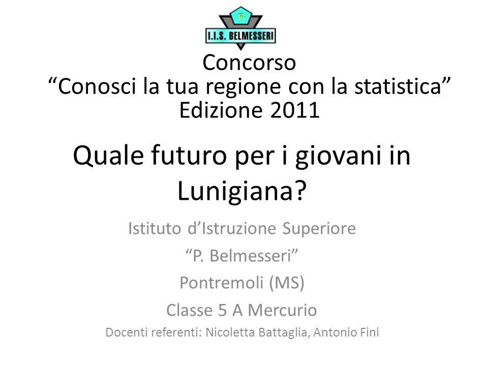 Quale futuro per i giovani in Lunigiana