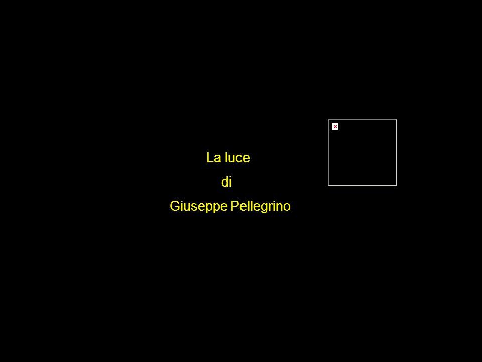La luce di Giuseppe Pellegrino