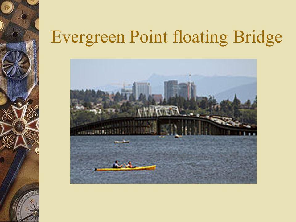 Evergreen Point floating Bridge