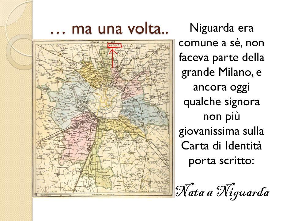 … ma una volta.. Nata a Niguarda