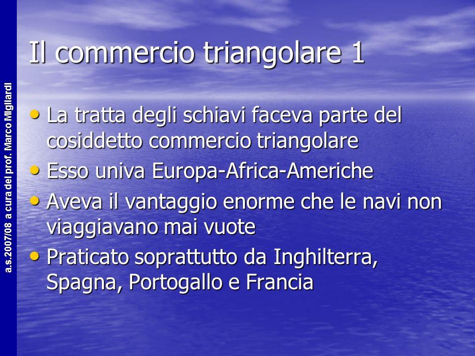 Il commercio triangolare 1