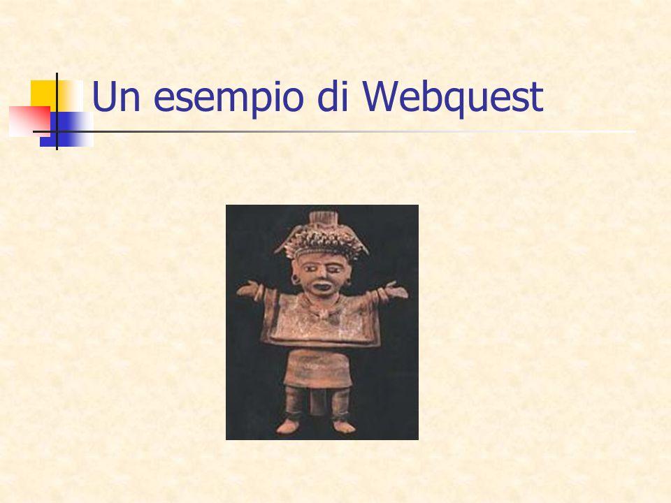 Un esempio di Webquest
