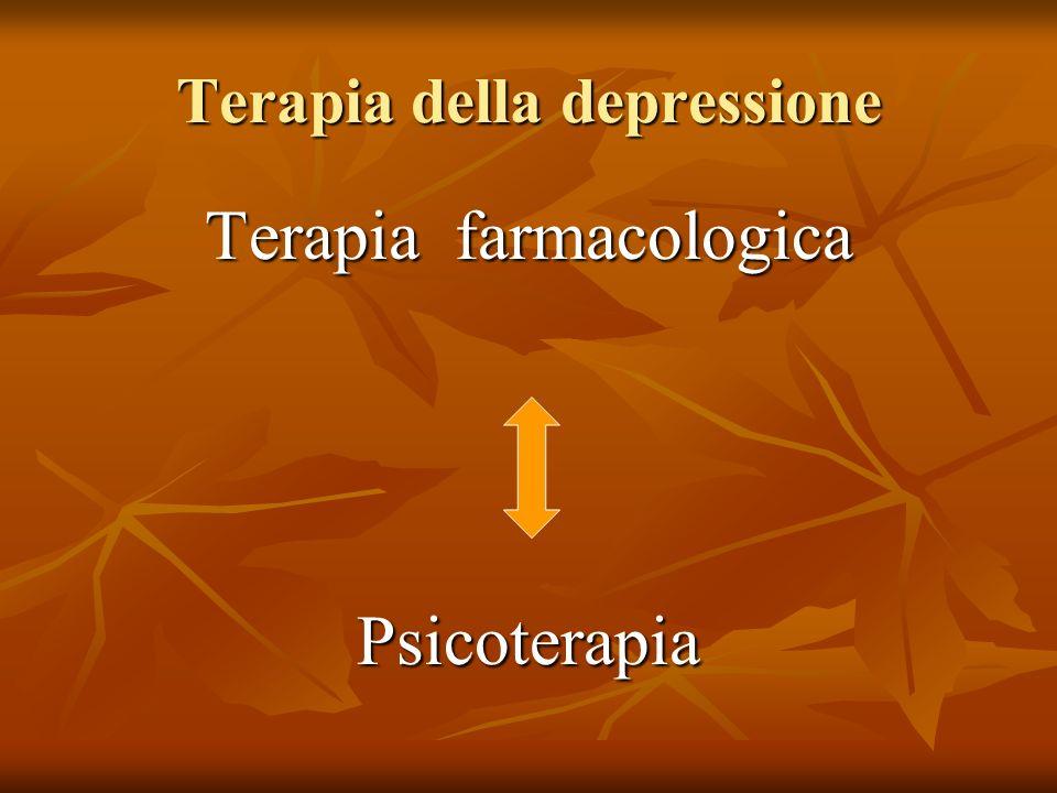 Terapia della depressione