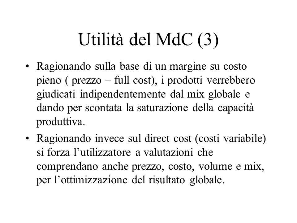 Utilità del MdC (3)