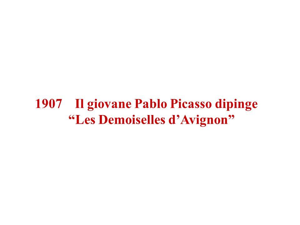 1907 Il giovane Pablo Picasso dipinge