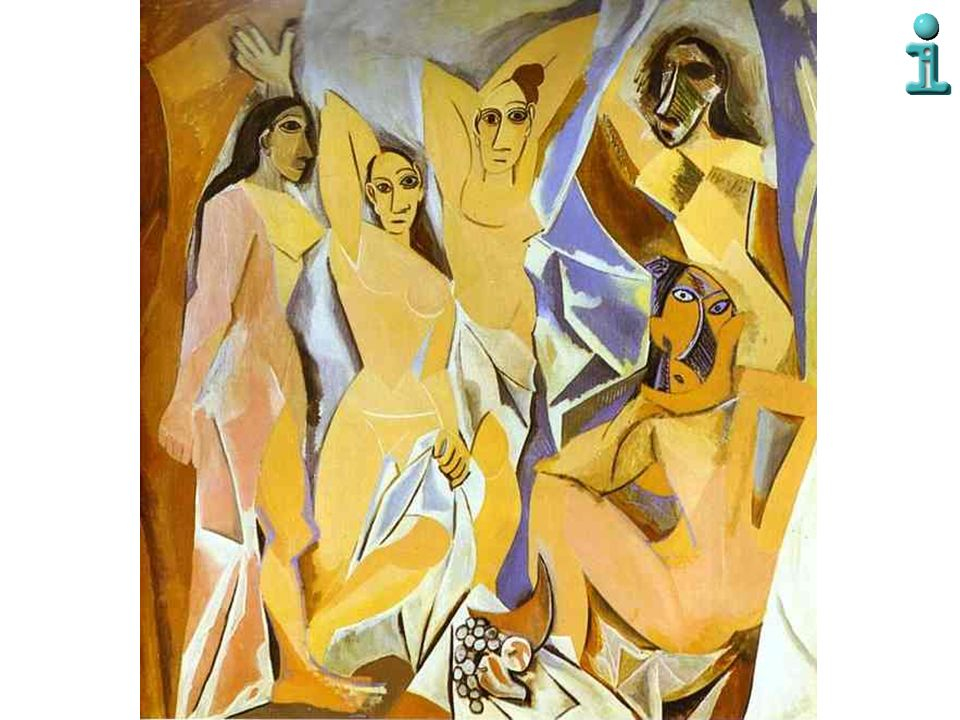 Nel 1907, a 25 anni, Picasso dipinge Les Demoiselles d'Avignon