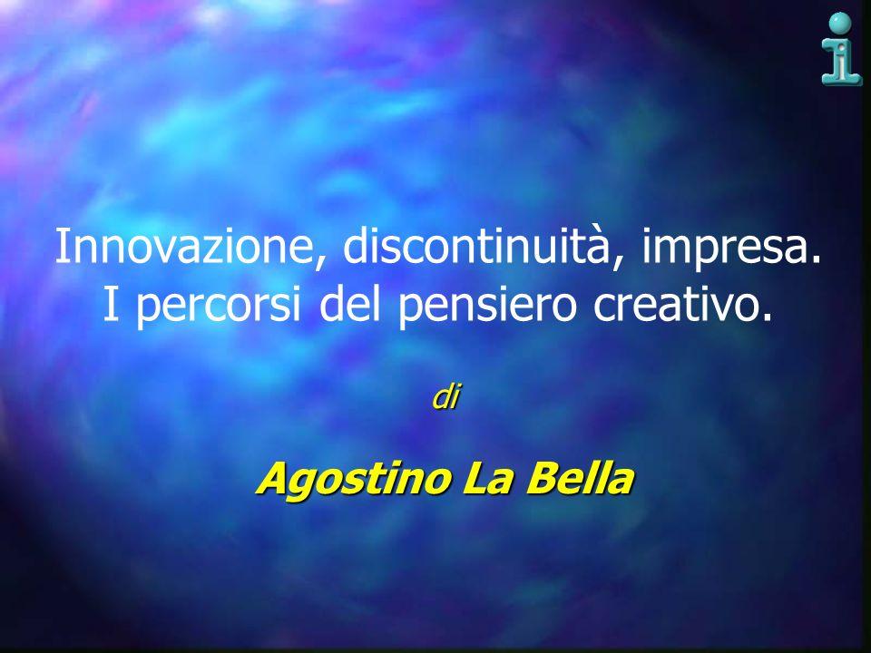 Innovazione, discontinuità, impresa. I percorsi del pensiero creativo.