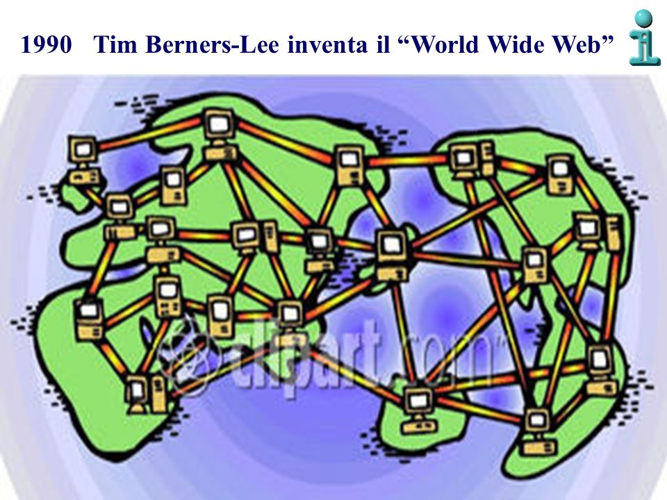 1990 Tim Berners-Lee inventa il World Wide Web