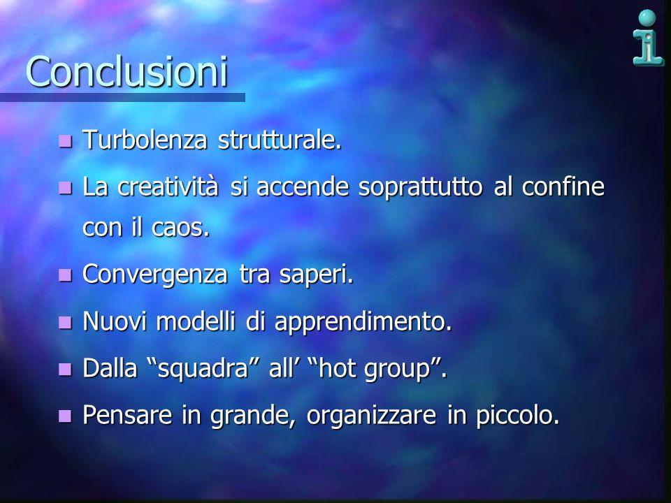 Conclusioni Turbolenza strutturale.