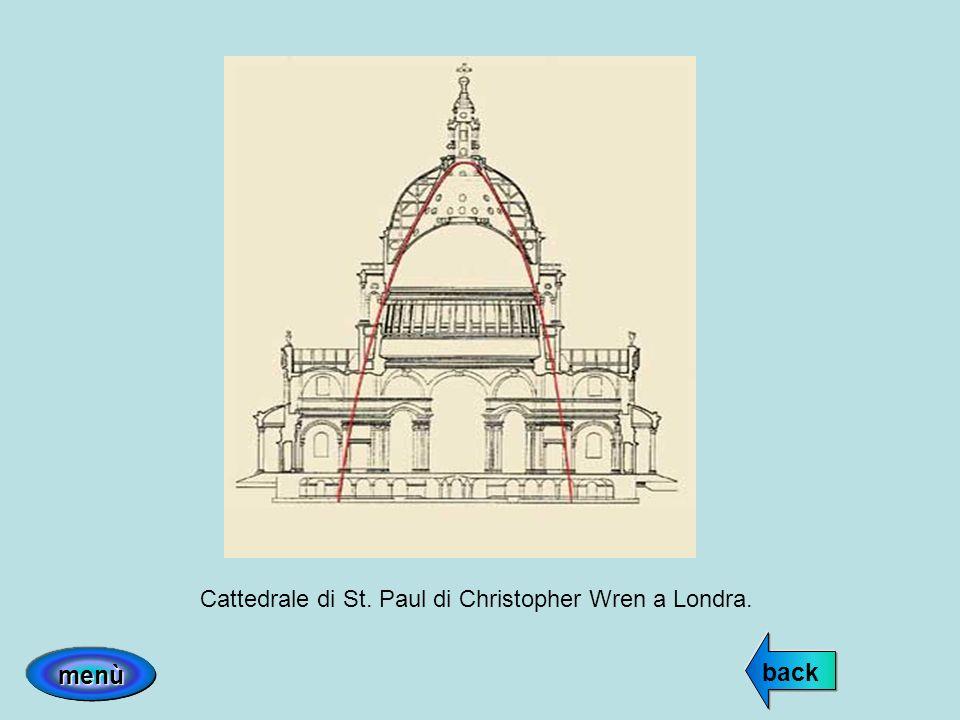 Cattedrale di St. Paul di Christopher Wren a Londra.