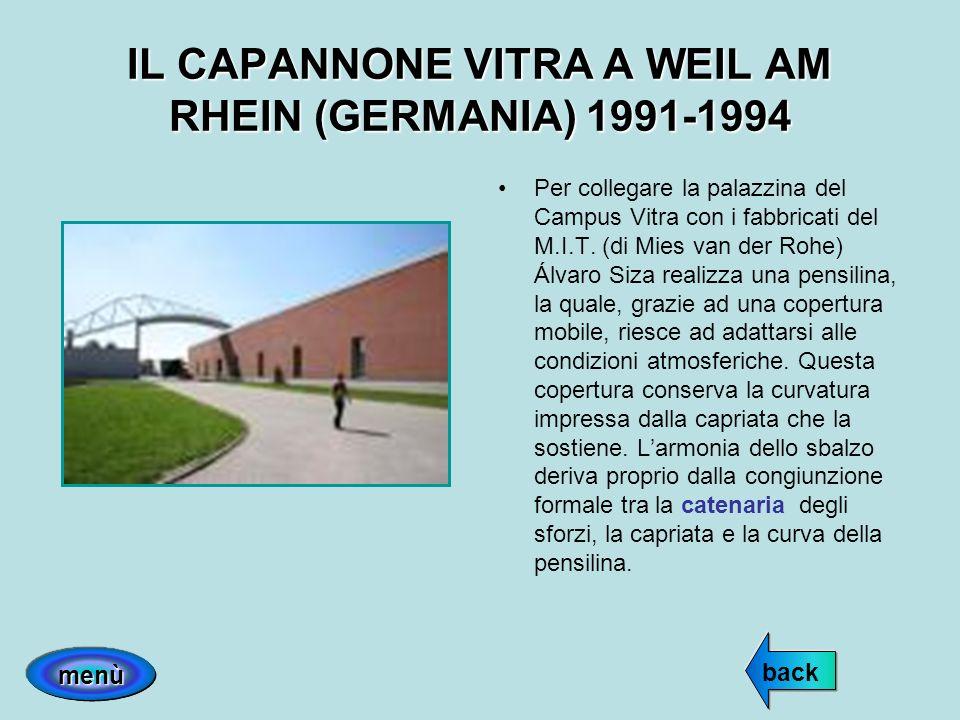 IL CAPANNONE VITRA A WEIL AM RHEIN (GERMANIA) 1991-1994