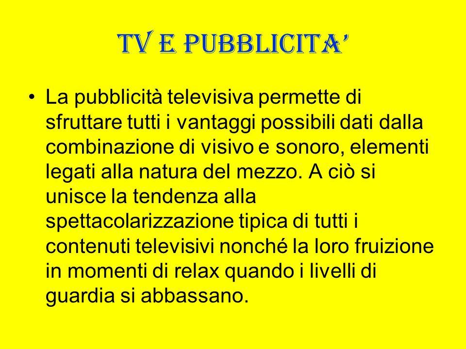 TV E PUBBLICITA'