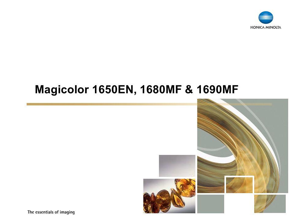 Magicolor 1650EN, 1680MF & 1690MF