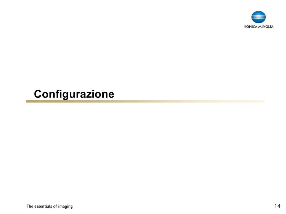 Configurazione