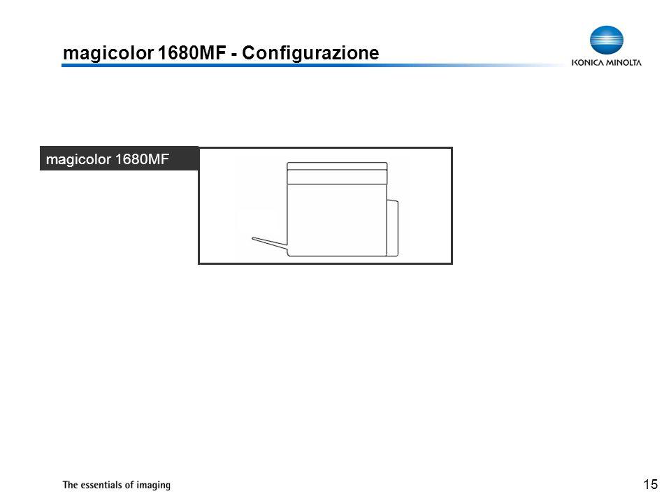 magicolor 1680MF - Configurazione